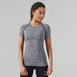 GymShark Seamless T-Shirt Charcoal