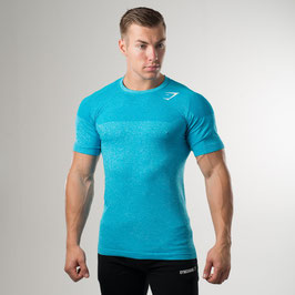 GymShark Phantom Seamless T-Shirt Blue