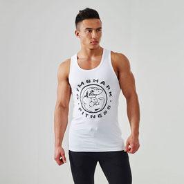 GymShark Fitness Vest Tank White