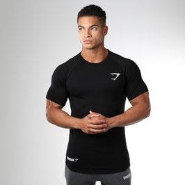 GymShark Fit Element T-Shirt Black
