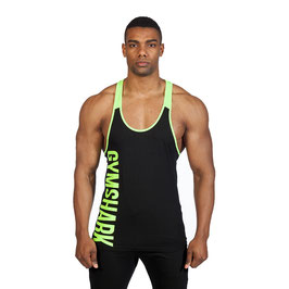 GymShark Valiant Stringer Black / Neon Green