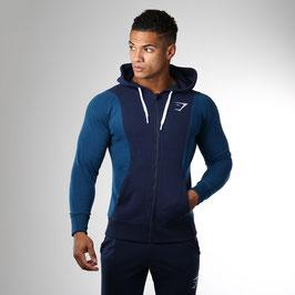 GymShark Carbon Hoodie Sapphire Blue / Atlantic
