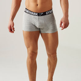 GymShark Trunk 2 Stück Light Grey Marl