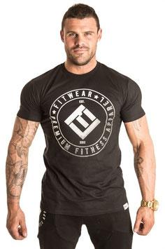 Fitwear Core Tee T-Shirt Silver Fade