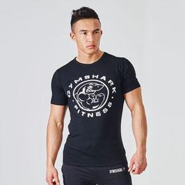GymShark Fitness T-Shirt Schwarz