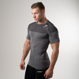 GymShark Phantom Seamless T-Shirt Charcoal