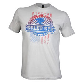 Golds Gym Eagle Tee Silver