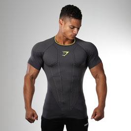 GymShark Onyx Seamless T-Shirt Charcoal