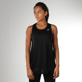 GymShark Freestyle Vest Black