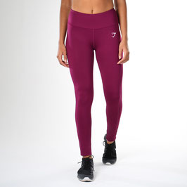 GymShark Dry Sculpture Leggings Plum