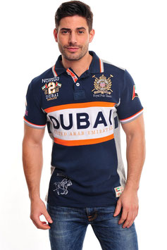 Geographical Norway Polo Dubai navy
