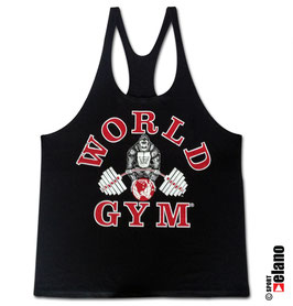 World Gym Classic Stringer black