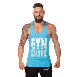 GymShark LoudMouth Stringer Vest Baby blau