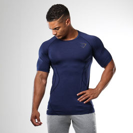 GymShark DRY Apex T-Shirt Sapphire Blue