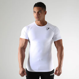 GymShark Form T-Shirt V2 White