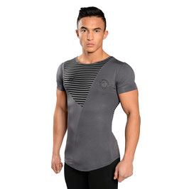 GymShark Luxe T-Shirt Grey / Black
