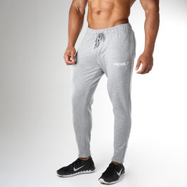 GymShark Fit Tapered Bottoms Light Grey