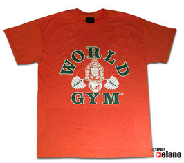 World Gym Classic T-Shirt Orange