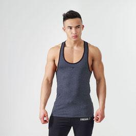 GymShark ION Strike Gym Stringer Grey