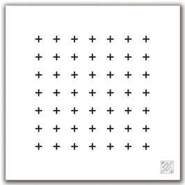 Crosses - Baby Feeding Mat