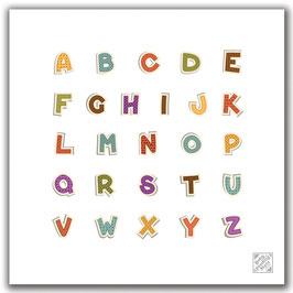 Alphabet - Baby Feeding Mat