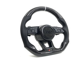 PSS PREMIUM AUDI RS Carbon Lenkrad EVO-X Grey LINE