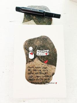 "Postkarte ""Herzding"""
