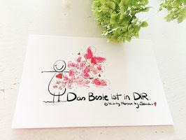 """Postkarte """"Das Beste ist in Dir"""""""