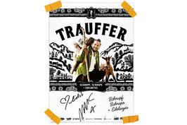 Tourplakat «Schnupf, Schnaps + Edelwyss» gross