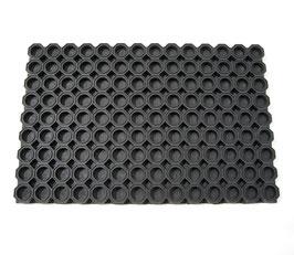 Gummiwabenmatten geschlossen 23 mm