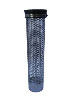 Siebrohr mit Endkappe für 110er KG Rohr (DN 110)