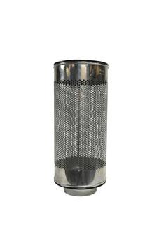 Siebrohr für 110er KG Rohr (DN 100) Reduziert von 315er Siebrohr einseitig verschlossen