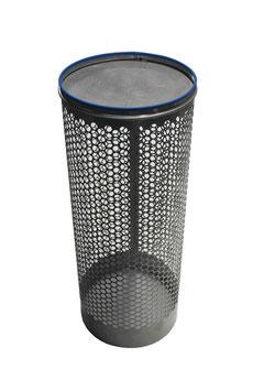 Siebrohr für 200er KG Rohr (DN 200) einseitig verschlossen