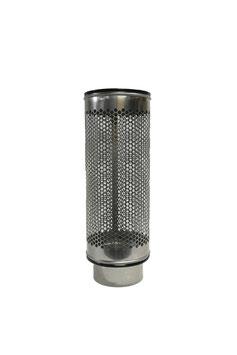 Siebrohr für 200er KG Rohr (DN 200) Reduziert von 250er Siebrohr einseitig verschlossen