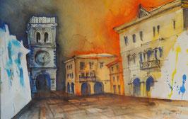 Piazza in Italien