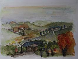 Steirische Hügellandschaft