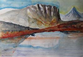 Wendebild - Kraft der Berge
