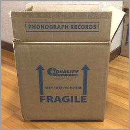 レコード梱包用段ボール箱