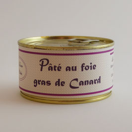 Pâté au foie gras de canard (conserve)