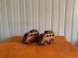"""""""Taxi Brousse"""" aus Holz"""