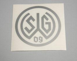 Aufkleber 09 Logo silber