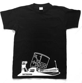 Shirt Skyline schwarz