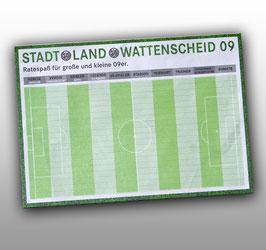 Spielblock Stadt, Land, Wattenscheid 09