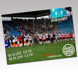Postkarte Derbysieger
