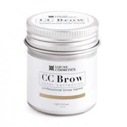 CC Brow Henna Light Brown 5 mg in potje