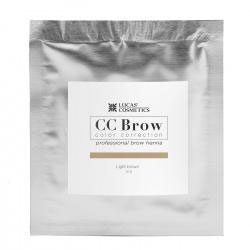 CC Brow Henna Light Brown navul 5 of 10 mg zakjes