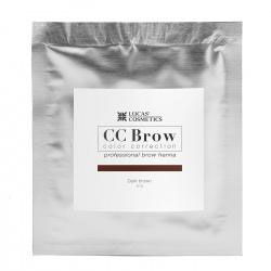CC Brow Henna Dark brown navul 5 of 10 mg zakjes
