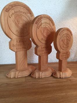 Vereins - Pokal aus Holz