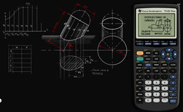 Calculadora Graficadora Programable TI 83 plus
