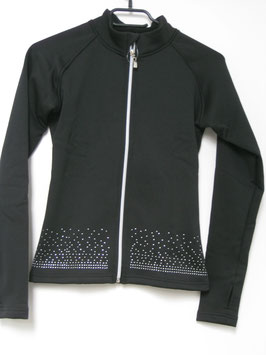 Trainingsjacke Glitter